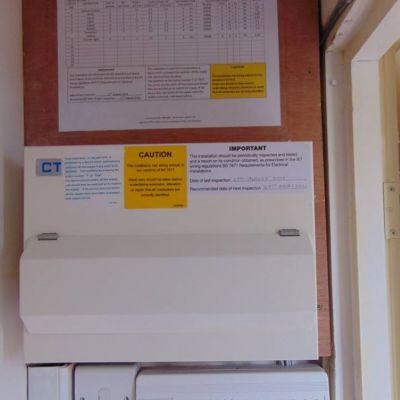 Awe Inspiring Completed Fuse Box Consumer Unit Installation M J Mcginn Electrical Wiring Digital Resources Dimetprontobusorg