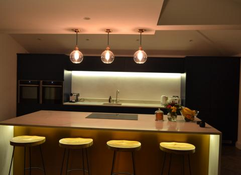 Kitchen lighting Installer in Anfield Liverpool