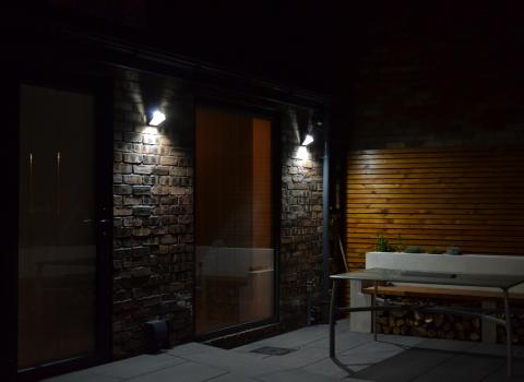Outdoor Security Lighting Installation in Anfield Liverpool