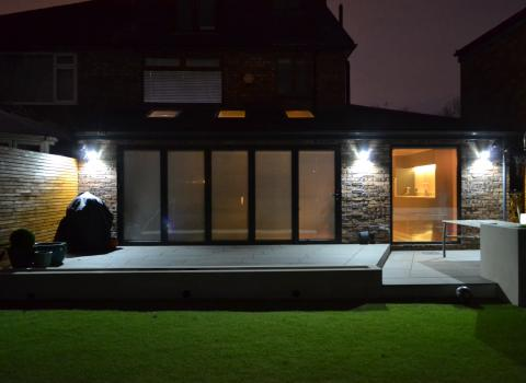 Outdoor Security Lighting Installer in Liverpool