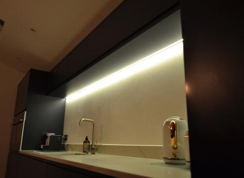 Under Cabinet Kitchen Lighting Installation in Anfield Liverpool